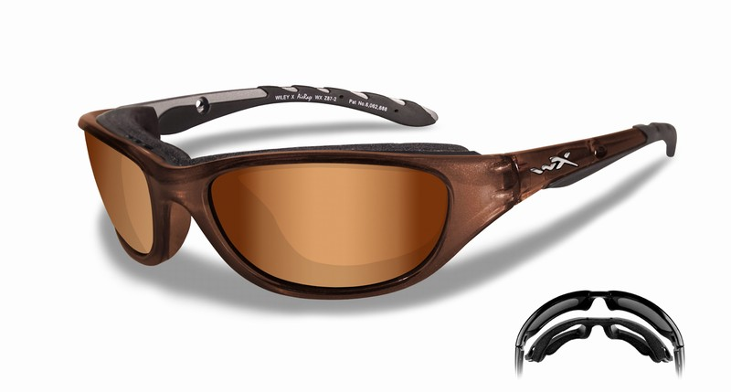 Ochelari Wiley X Airrage Lentile Bronze Flash