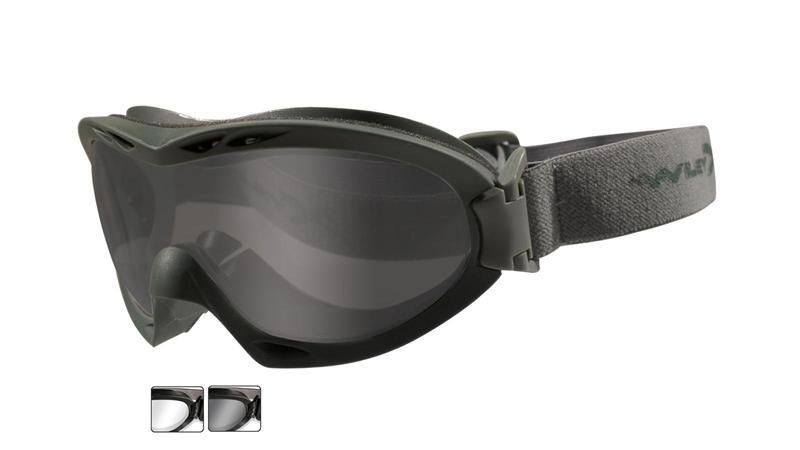 Ochelari Tactici Wiley X Nerve Lentile Fumurii/clare
