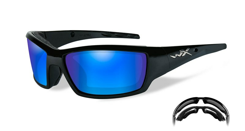 Ochelari Soare WileyX Tide Lentile Polarizate Blue Mirror