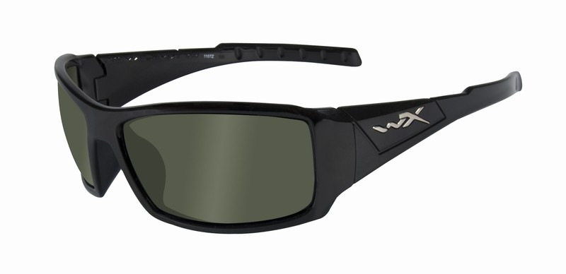 Ochelari De Soare Wiley X Twisted Lentile Polarizate Verzi-fumurii