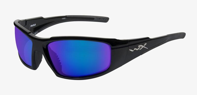 Ochelari De Soare Wiley X Rush Lentile Polarizate Blue Mirror