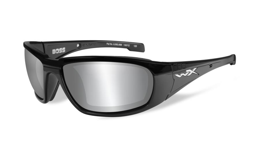 Ochelari De Soare WileyX Boss Lentile Fumurii Silver Flash