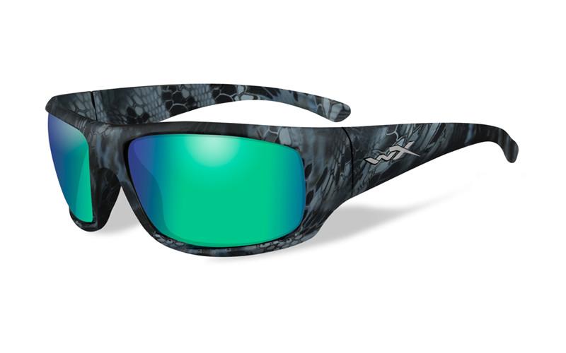 Ochelari Wiley X Omega Lentile Polarizate Emerald Mirror