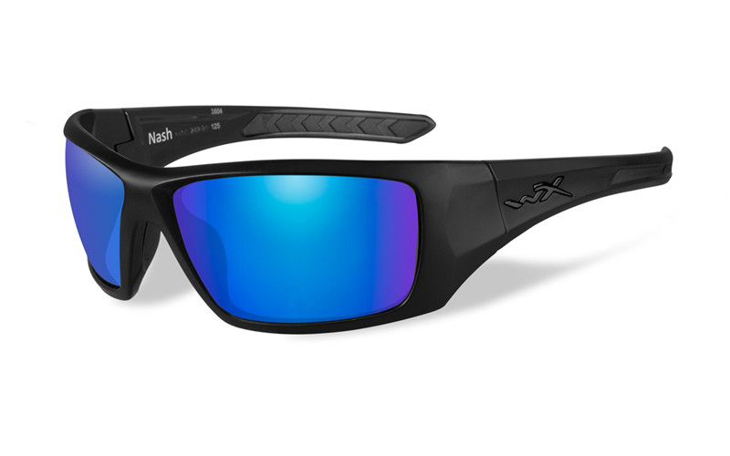 Ochelari Wiley X Nash Lentile Polarizate Blue Mirror
