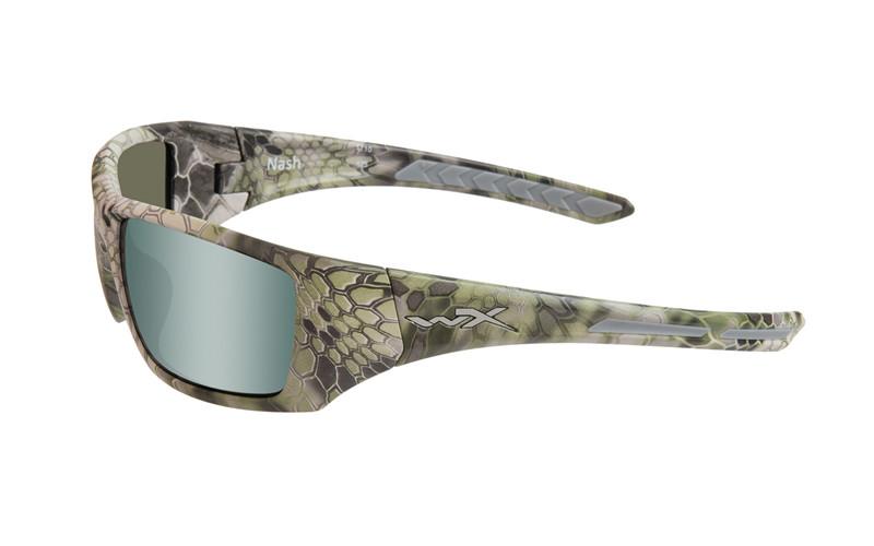 Ochelari De Soare Wiley X Nash Lentile Polarizate Green Platinum