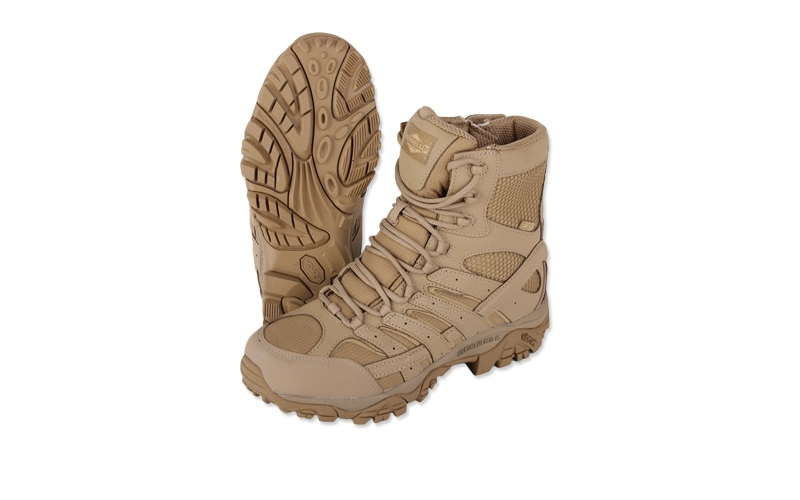 "Ghete Merrell Moab 2 8"" Waterproof Coyote"