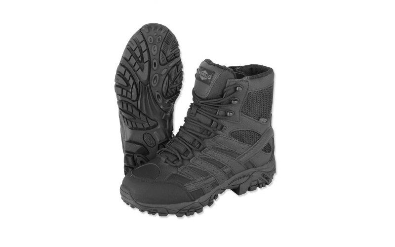 "Ghete Merrell Moab 2 8"" Waterproof Black"