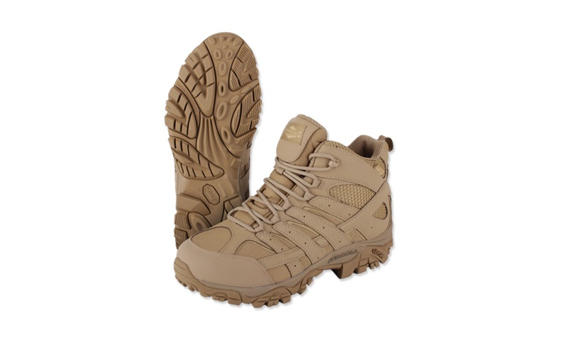 Ghete Merrell Moab 2 Mid Waterproof Coyote