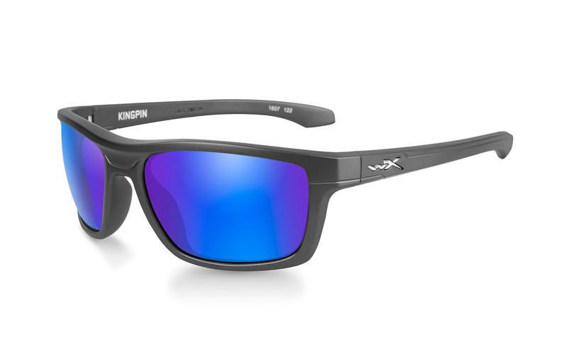 Ochelari De Soare Wiley X Kingpin Lentile Polarizate Blue Mirror