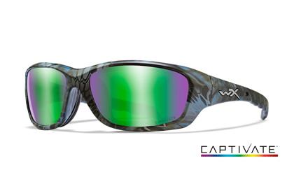 Ochelari De Soare Wiley X Gravity Captivate Lentile Polarizate Green