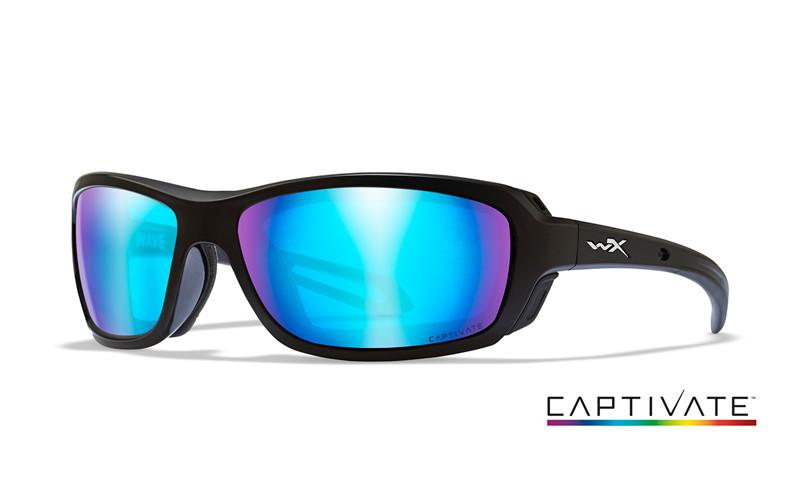 Ochelari De Soare Wiley X Wave Captivate Lentile Polarizate Albastre