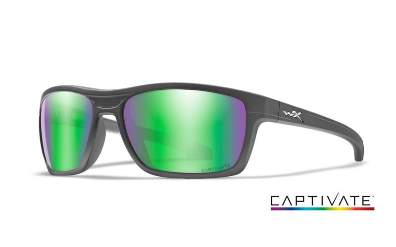 Ochelari De Soare Wiley X Kingpin Captivate Lentile Polarizate Green