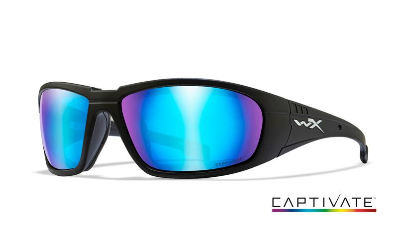 Ochelari De Soare Wiley X Boss Captivate Lentile Polarizate Blue Mirror