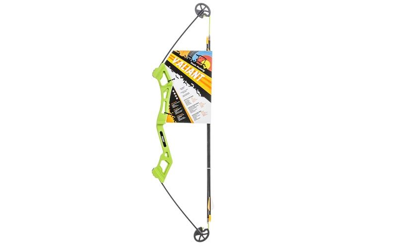 Arc Compound Cu Sageti Bear Archery Valiant Culoare Verde